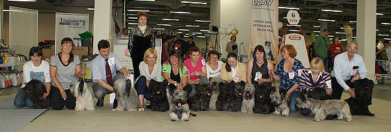 National Dog Show-2012 - FCI Judges Elena Kuleshova - photo Victoria Osipova